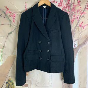 J Crew Solid Thandie Wool Blazer Jacket